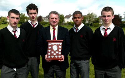Maths Quiz winning team
